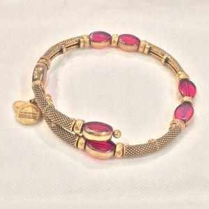 Alex & Ani red wrap bracelet